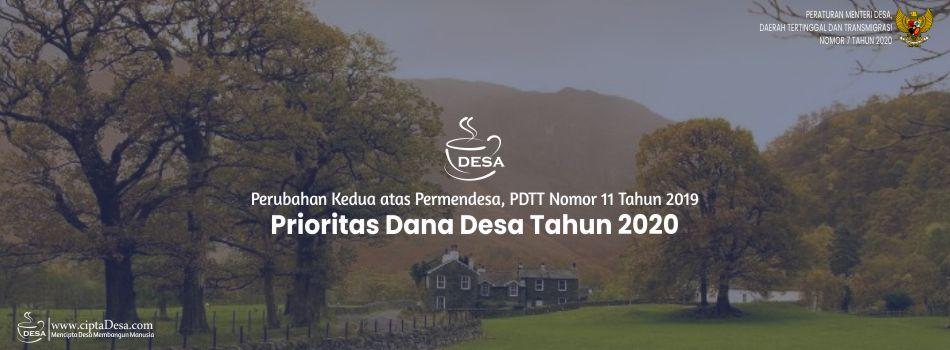 Permendesa PDTT Nomor 7 Tahun 2020