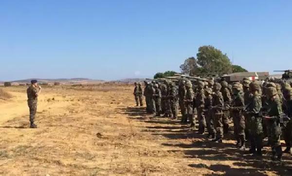 Στρατός και ΕΛ.ΑΣ. από κοινού για την ανάσχεση των μεταναστευτικών ροών υπό το βλέμμα του Αρχηγού ΓΕΣ