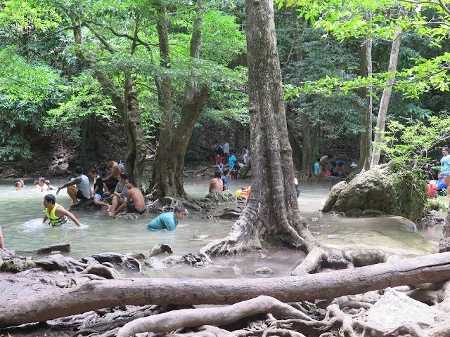 Cascadas Erawan - Kanchanaburi