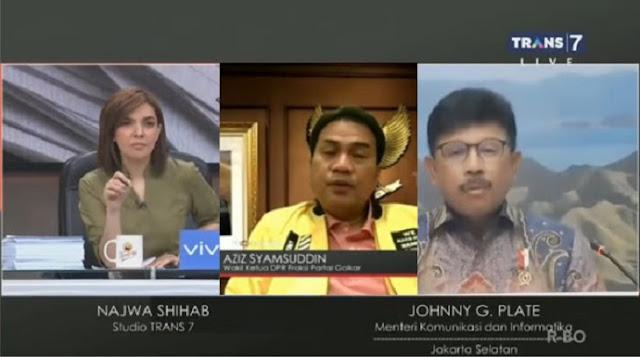 Mata Najwa Layak Dapat 2 Jempol, Bikin Menkominfo Emosi dan Wakil Ketua DPR Tersudut Atas Pernyataannya Sendiri