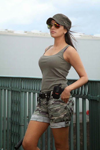 Kajal Agarwal Hot in Denim Shorts