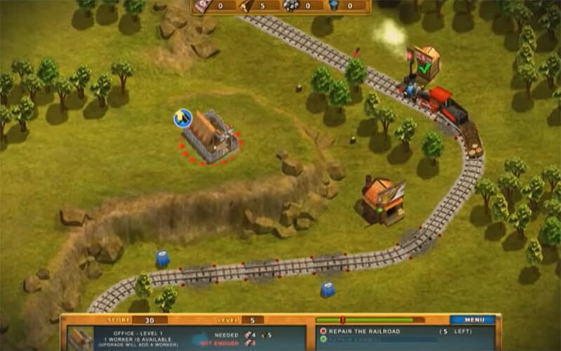 لعبة محطة القطار