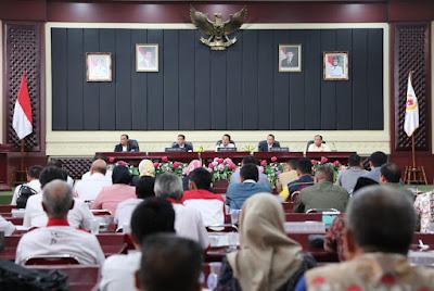 Yusuf Barusman Terpilih Sebagai Ketua Umum KONI Lampung 2019-2023