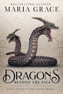 Book Cover: Dragons Beyond the Pale by Maria Grace