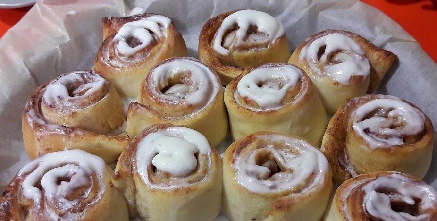 """Receta de """"Cinnamon rolls"""" o """"rollos de canela"""""""