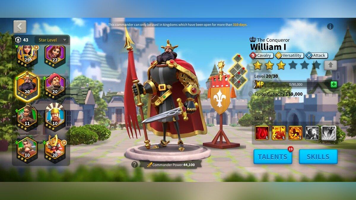 William I - cavalry