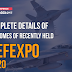 Complete details of Outcomes of recently held Defexpo 2020