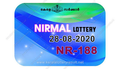 kerala lottery result, kerala lottery kl result, yesterday lottery results, lotteries results, keralalotteries, kerala lottery, keralalotteryresult, kerala lottery result live, kerala lottery today, kerala lottery result today, kerala lottery results today, today kerala lottery result, Nirmal lottery results, kerala lottery result today Nirmal, Nirmal lottery result, kerala lottery result Nirmal today, kerala lottery Nirmal today result, Nirmal kerala lottery result, live Nirmal lottery NR-188, kerala lottery result 28.08.2020 Nirmal NR 188 28 August 2020 result, 28 08 2020, kerala lottery result 28-08-2020, Nirmal lottery NR 188 results 28-08-2020, 28/08/2020 kerala lottery today result Nirmal, 28/08/2020 Nirmal lottery NR-188, Nirmal 28.08.2020, 28.08.2020 lottery results, kerala lottery result August 28 2020, kerala lottery results 28th August 2020, 28.08.2020 week NR-188 lottery result, 28.08.2020 Nirmal NR-188 Lottery Result, 28-08-2020 kerala lottery results, 28-08-2020 kerala state lottery result, 28-08-2020 NR-188, Kerala Nirmal Lottery Result 28/08/2020