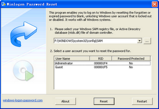 COMPUTER TRICKS AND TIPS: Windows Login Password Reset Boot Disk