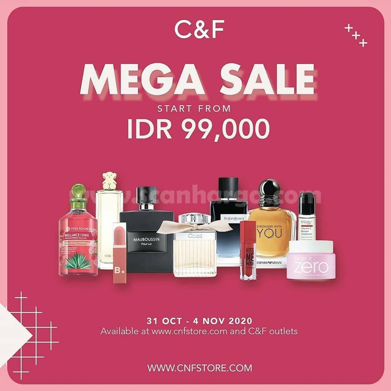 C&F Promo Mega Sale start from IDR 99.000