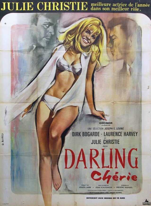 French poster for Darling