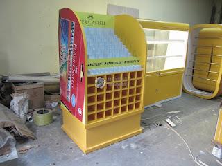 Etalase Display ATK - Furniture Semarang