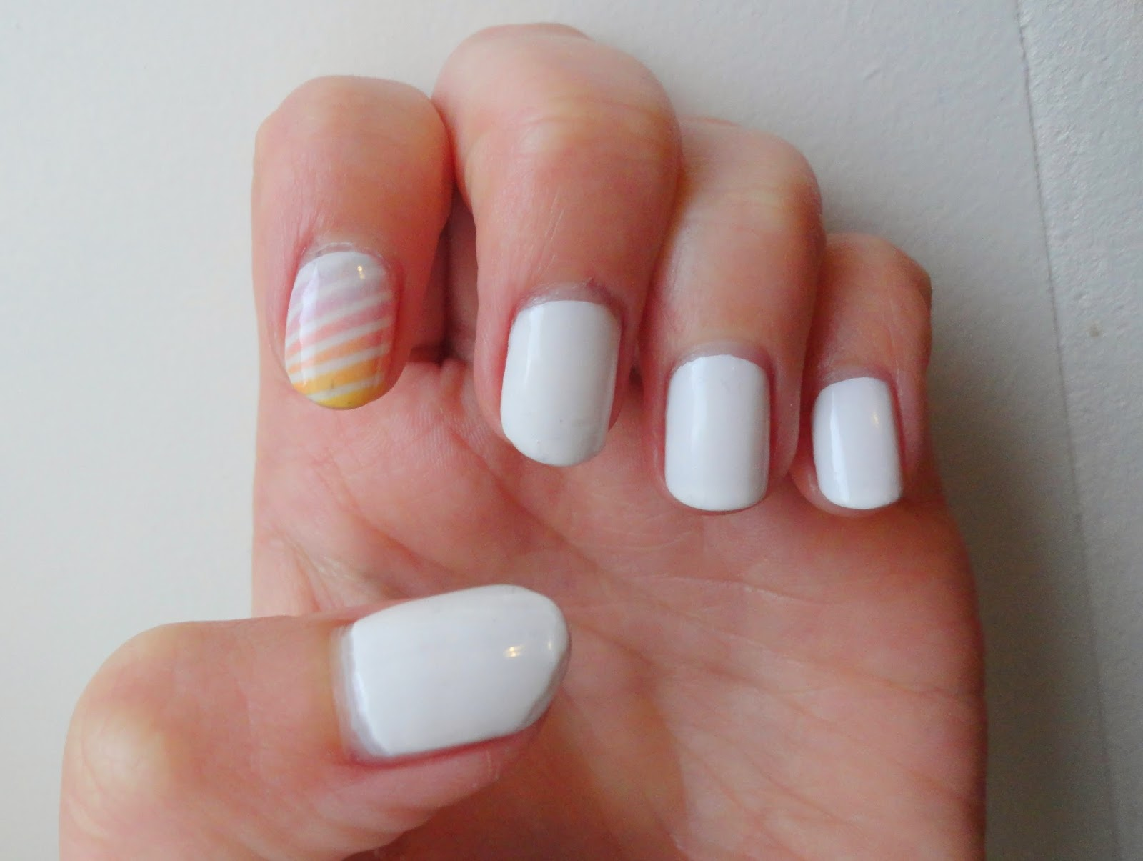 Clothes & Dreams: NOTD: Easter nails: complete nail art