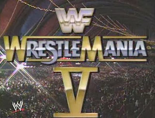 WWF / WWE: Wrestlemania 5 - The show came live from Trump Plaza in Atlantic City, New Jersey
