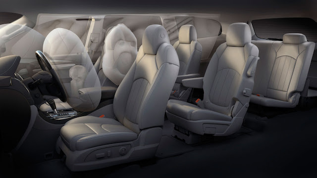 Buick 2013 Enclave air bags