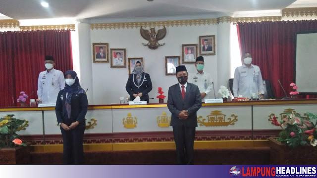 Lantik Pejabat Struktural, Bupati Tanggamus Ganti Direktur RSUDBM, Arvin Jabat Kadis PMD