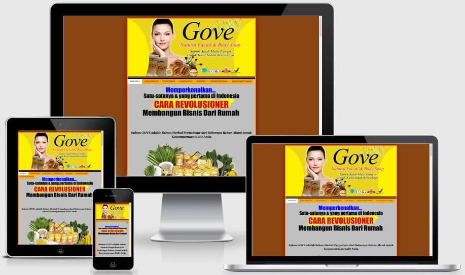 Gove Minisite Landing Page