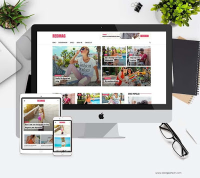 RedMag - AdSense Optimized wordpress theme