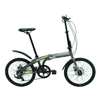 20 united cora folding bike