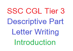 ssc cgl tier 3 - letter writing topics and tips