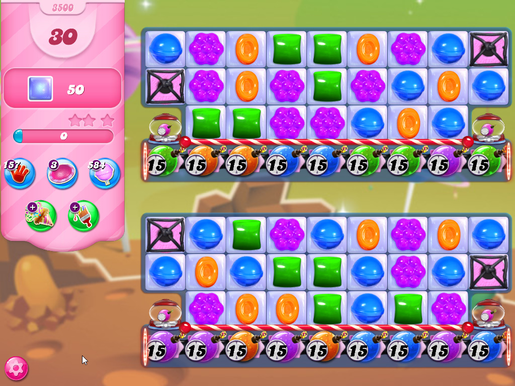 Candy Crush Saga level 3500