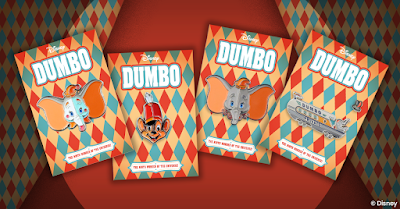 Disney's Dumbo Enamel Pins by Tom Whalen x Mondo