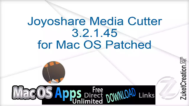 Joyoshare Media Cutter 3.2.1.45 for Mac OS Patched