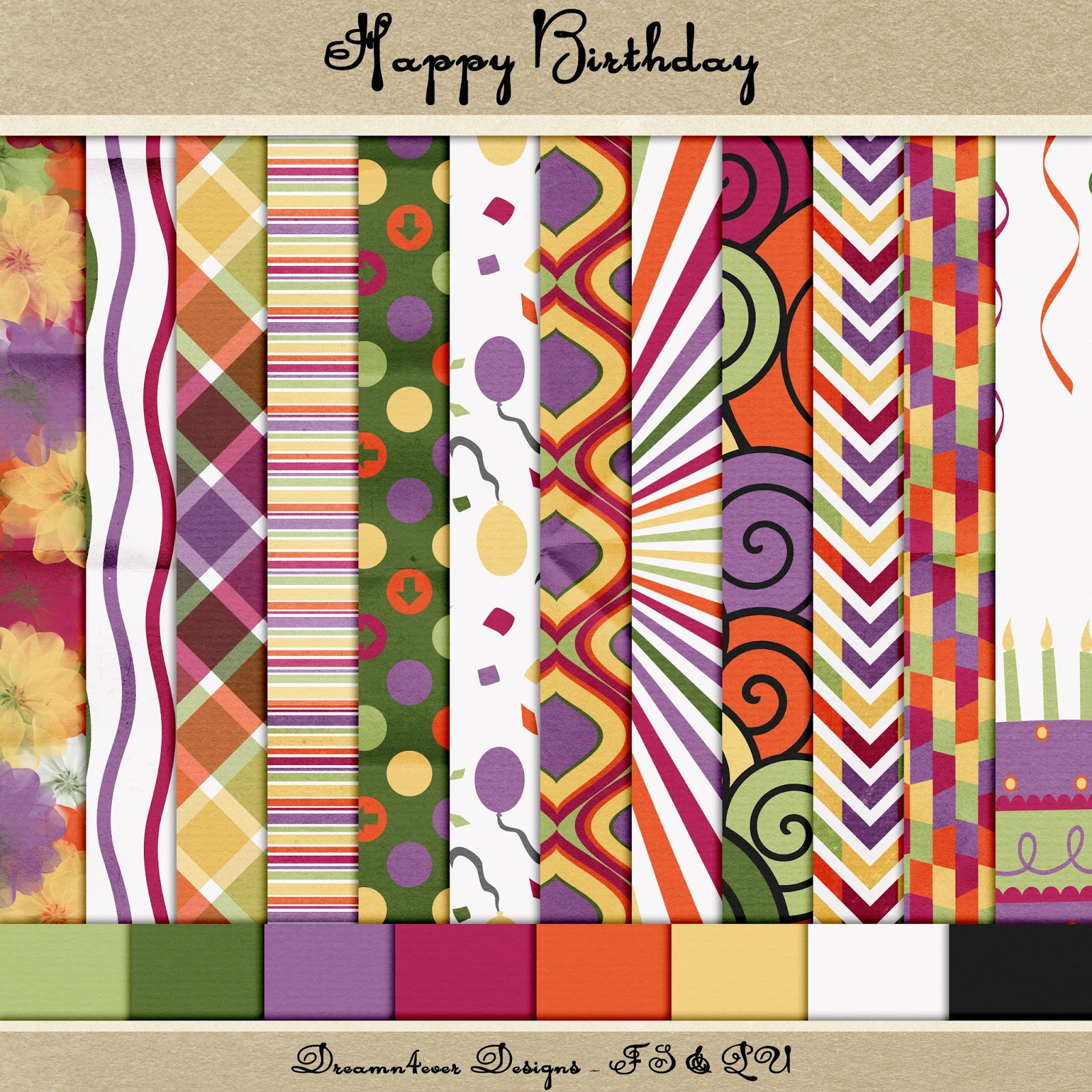 Dreamn4ever Designs: Happy 2nd Birthday