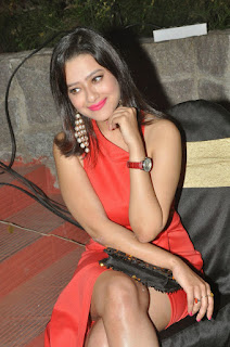 Actress Madalasa Sarma Latest Cute Spicy Pictures Gallery At Ramleela Movie Platinum Disc Function (8)