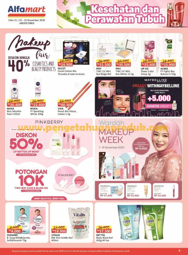 Katalog Promo Alfamart Terbaru Periode 1 15 November 2020