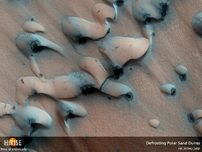 Shifting Sands on Mars