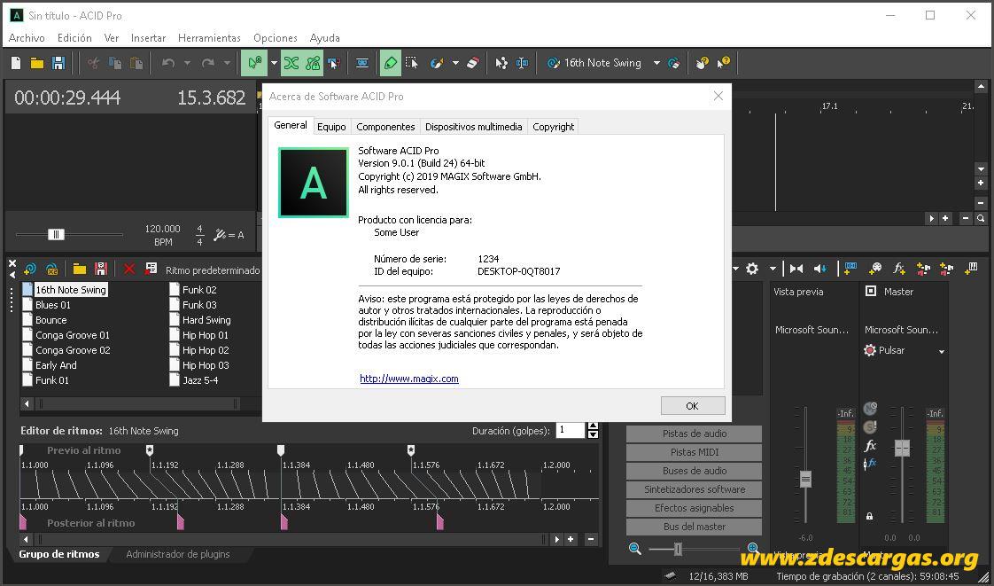 ACID Pro 9 Full Español