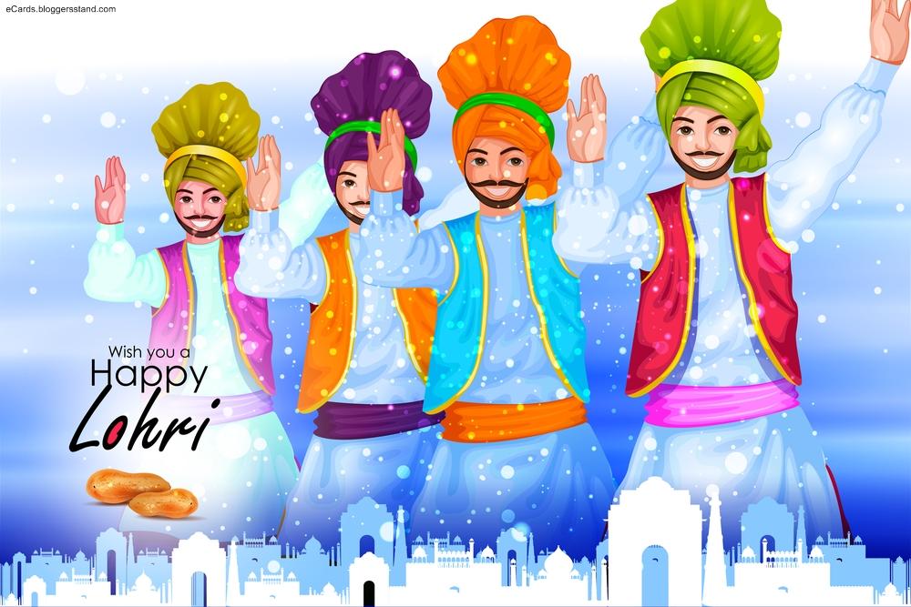 Happy lohri 2021 january 13th festival greetings