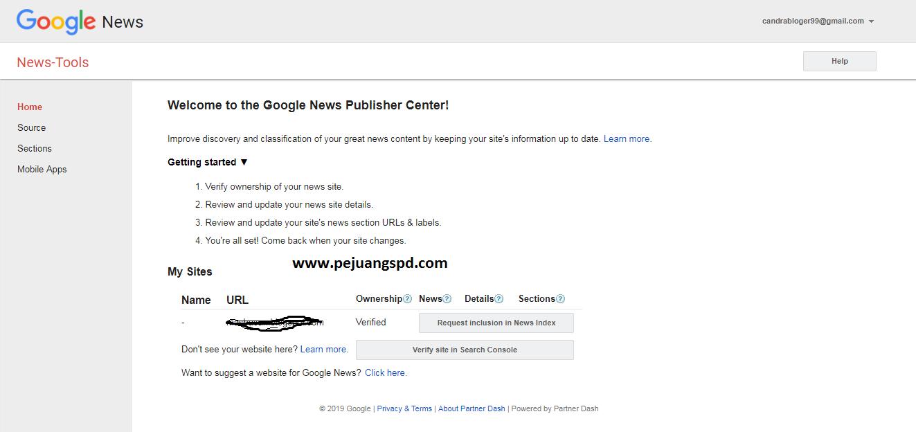 tips, mendftar google news agar mudah di terima