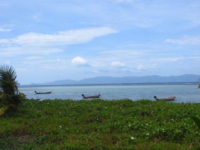 Фотография острова Самуи с острова Пангана