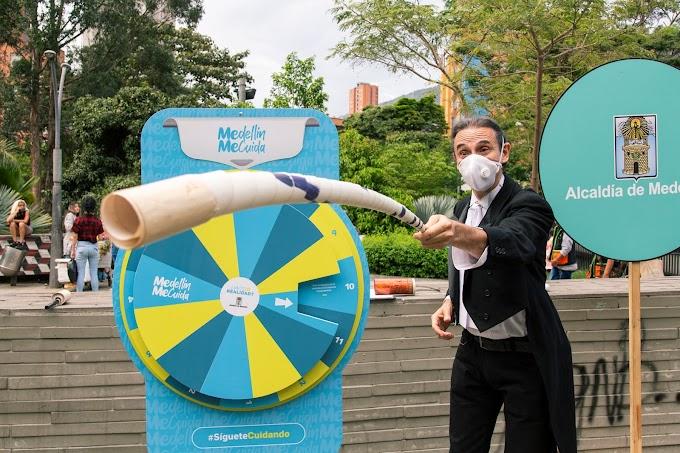 Medellín reactiva Cultura Parque, un escenario para la promoción del autocuidado en el espacio público