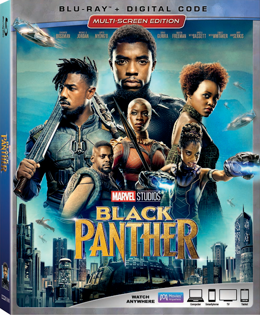 Black Panther is coming to 4K Ultra HD™, Blu-ray™, DVD and On-Demand on May 15th!