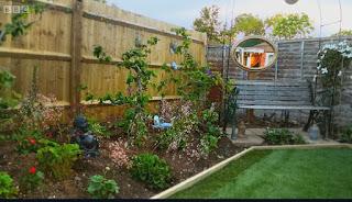 Garden after reveal