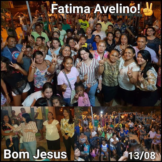Fátima Avelino vai se consolidando como a deputada dos imperatrizenses!!!