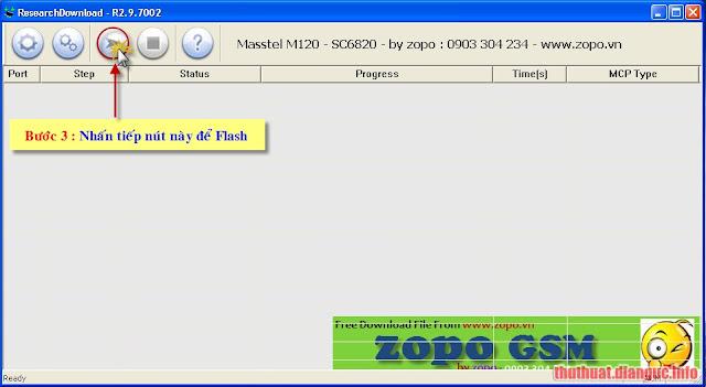 (Hướng dẫn) Dùng ResearchDownload để Flash file PAC chip SpreadTrum