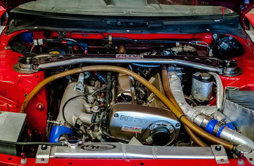 Super Takiyu World Challenge R34 GT-R engine