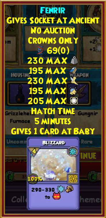 Wizard101 Grizzleheim Lore Pack