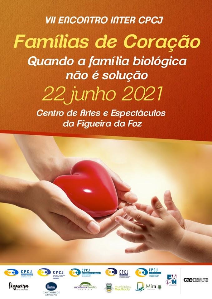 """""""Famílias de Coração – quando a família biológica não é solução"""" é o tema do VII Encontro Temático Inter CPCJ"""
