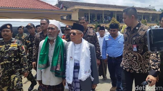 Habib Hasan Bin Agil Baabud Mendukung KH Ma'ruf Amin
