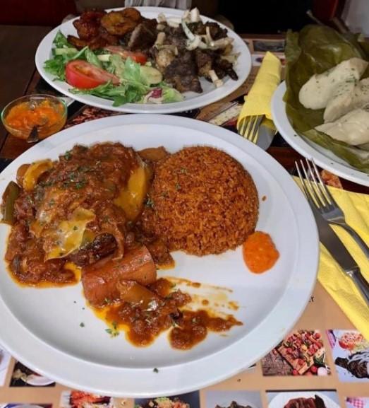 Restaurant, cuisine, bar, plat, bar, thiebou, dieune, terrasse, belge LEUKSENEGAL, Dakar, Sénégal, Afrique