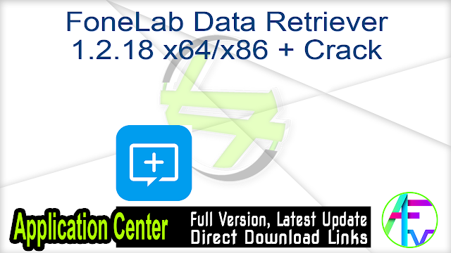 FoneLab Data Retriever 1.2.18 x64-x86 + Crack