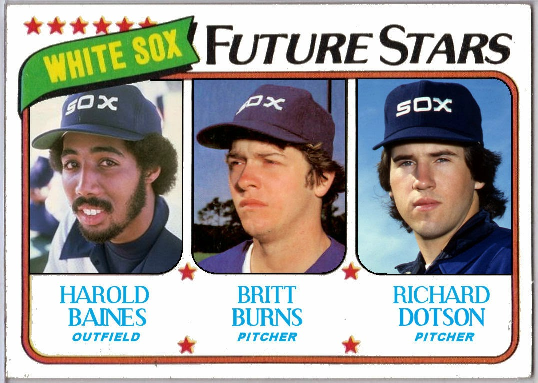 Cards That Never Were 1980 Topps White Sox Future Stars