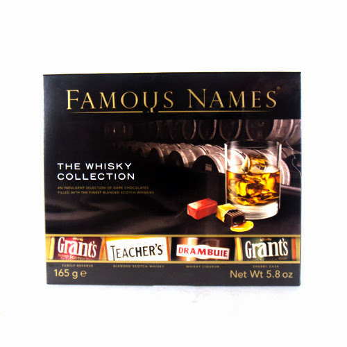 famous names whiskey liqueurs chocolates