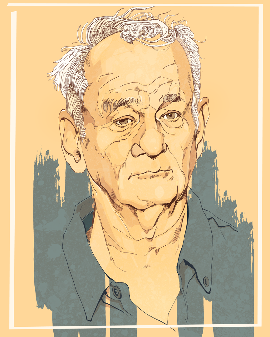 Bill murray Illustration