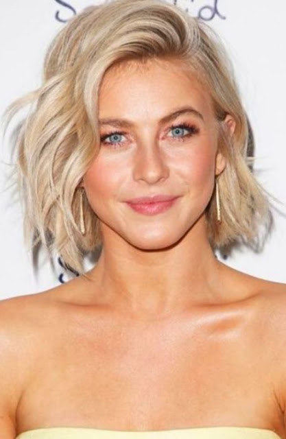 Chopped Beachy Look Hairstyle